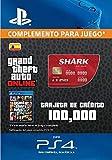 Grand Theft Auto Online - GTA V Cash Card | 100,000 GTA-Dollars | Código de descarga PS4 - Cuenta...