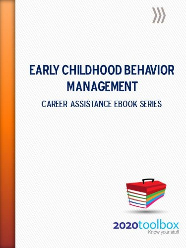 Early Childhood Behavior Management (Career Assistance Series)