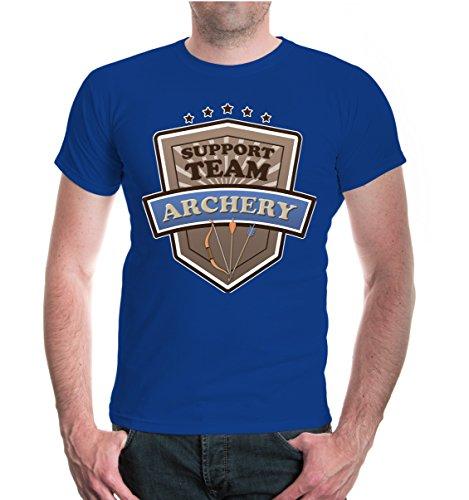 buXsbaum® T-Shirt Archery-Support Team Royal-z-direct