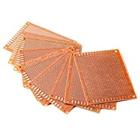 Yeah67886 Pack of 20 Solder Finished Prototype PCB for Circuit Board Breadboard 7*9 cm