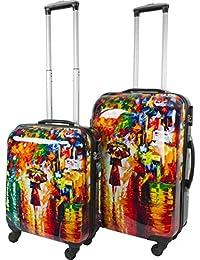 ABS Hartschalen Koffer mit Teleskopgriff und Zahlenschloss