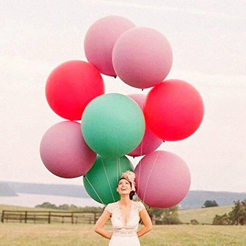 36 Zoll Riese Ballons groß Runden Latex Ballon für Festival/ Geburtstag/ Hochzeit Party (Jahr 2017 Das Halloween Für Dekoration)