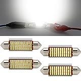 LED Festoon Bulbs 42mm Canbus Error Free White E3175...
