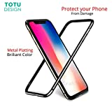 #9: Totu Bumper Case For iPhone X 10 Coque Shockproof Frame Cover Case For iPhoneX (Black)