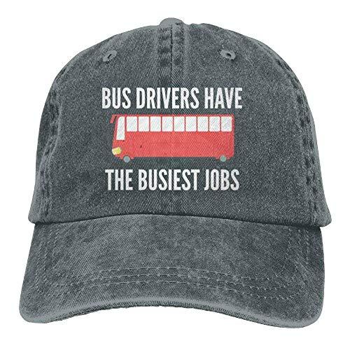 Hoswee Unisex Kappe/Baseballkappe, TheBusiest Jobs Denim Hat Adjustable Male Stretch Baseball Caps Jordan Stretch-cap