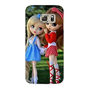 Delighted Sister Doll Multicolor Back Case Cover for Samsung Galaxy S6 Edge