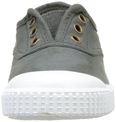 victoria Unisex-Kinder Inglesa Lona Tintada Punt Sneaker Gris (15 Plomo)