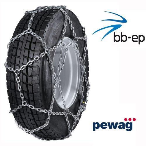 Pewag Cervino - La chaîne à neige pour l'utilisation utilitaires véhicule économique - Pour Transporter et camion avec la taille des pneus 12.00 R20 - Certifié TÜV avec ö Norme V5119 - pour une utilisation route standard