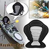 Hete-supply Kayak Seats With Back Support, Deluxe Soft And Anti-skid Boat Base Cushion