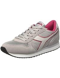 Diadora K-Run W, Damen Sneakers, Grau (Ash/Grey Violet), 40 EU