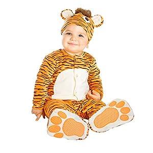 My Other Me Me-204307 Disfraz de pequeño tigre, 0-6 meses (Viving Costumes 204307)