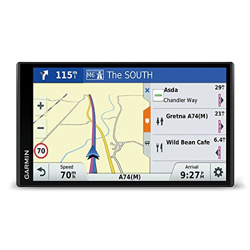 Garmin DriveSmart 61 LMT-D EU Navigationsgerät  (17,65 cm (6,95 Zoll) rahmenloses Touchdisplay, Europa (Traffic via DAB+ oder Smartphone Link)  lebenslang Kartenupdates & Verkehrsinfos, Smart Notifications) - 3