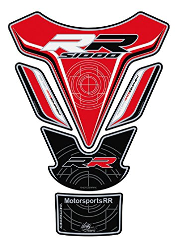 Motorrad Motografix Tankpad BMW S1000RR rot schwarz