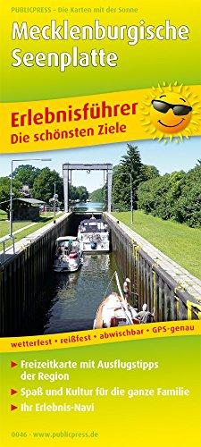 Mecklenburgische Seenplatte: Erlebnisführer mit Erlebnisgutscheinen und Informationen zu Freizeiteinrichtungen auf der Kartenrückseite, wetterfest, ... GPS-genau. 1:180000 (Erlebnisführer / EF)