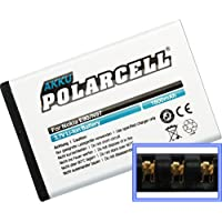 PolarCell Batería Li-Ion para Nokia 6650 E52 E61i E63 E71 E90 N97 N810 (ersetzt BP-4L/BP-4C)