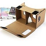 Kit de bricolage carton de Google, GMYLE Réalité virtuelle 3D Cardboard Glasses...