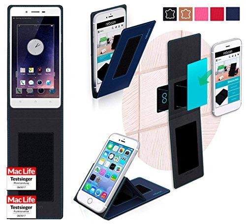 reboon Hülle für Oppo Mirror 5 Tasche Cover Case Bumper | Blau | Testsieger