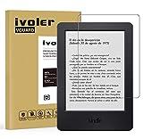 iVoler Amazon Kindle Paperwhite (All 2012/2013 / 2015/2016 Versions) / Kindle (2014 / 7th Gen) / Kindle E-Reader (2016/ 8th Gen) Panzerglas Schutzfolie, 9H Härte, Anti- Kratzer, Bläschenfrei