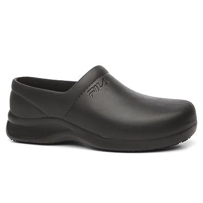 840c2292baf7 Fila Men s Galvanize Slip Resistant Rubber Work Shoes: Amazon.in ...