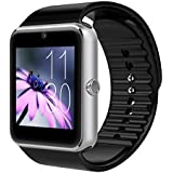 Stoga Sweatproof Smart Watch Phone Bluetooth 4.0 Easy Connection Make calls Support SIM TF for IPhone 5s 6 6s and 4.2 Android or Above Smart Phones