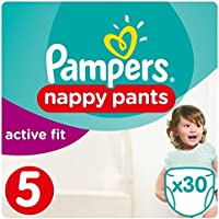 Pampers Active Fit Couches Taille 5 Essential Lot de 30 couches