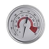 LbojailiAi 1/4 Zoll Grill Raucher BBQ Grill Thermometer Messer Fleisch Temperaturmesser Werkzeug