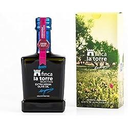botellas vidrio 250 ml - Finca la Torre Finca La Torre. SELECCIÓN Aceite de oliva virgen extra Arbequina ecológica