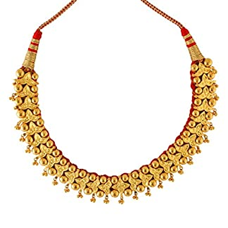 WHP Jewellers 22k (916) Yellow Gold and Choker Necklace