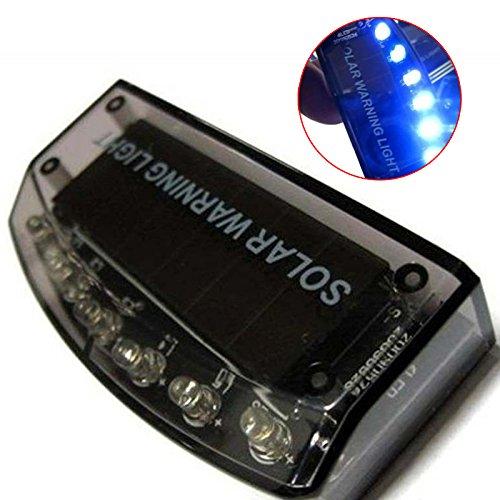 Hrph 6 LED Selbstsolaraufladeeinheits-Auto-Alarmanlage-Warnungs-Lampen-Sensor-Sicherheits-Warnlicht