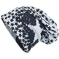 Shenky - Cappello lungo in jersey - grigio con