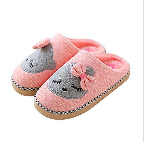 TDXIE-Confinados-y-antideslizante-de-proa-un-par-zapatos-de-zapatillas-de-algodn-clido-familiar-cartoon