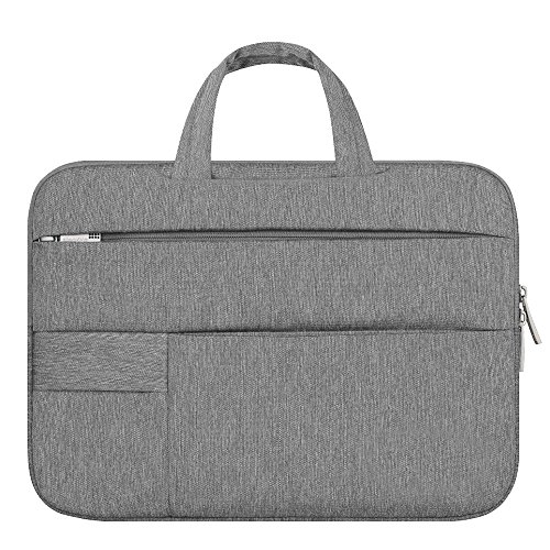 Shopizone 13 inch Laptop Bags Sleeve Notebook Case Soft Cover - Grey