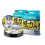 Shimano Kairiki PE 0.28mm SteelGray 28.0kg,300m geflochtene Schnur