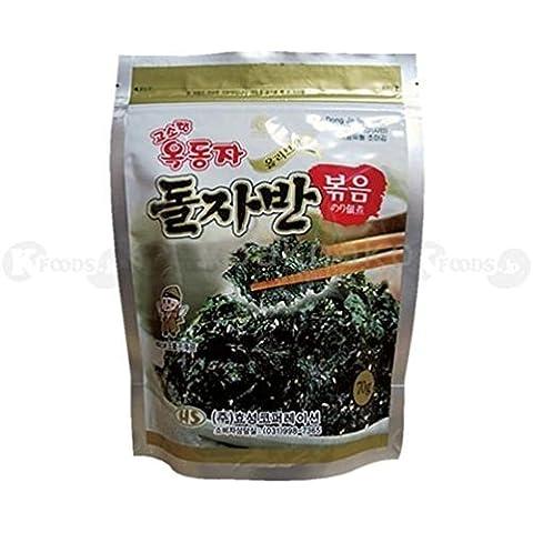 [0241] palla Doji Oddonza alghe fritte alghe condito Jaban Corea laver 1 sacchetto (70g) coreano [merci di importazione parallela]