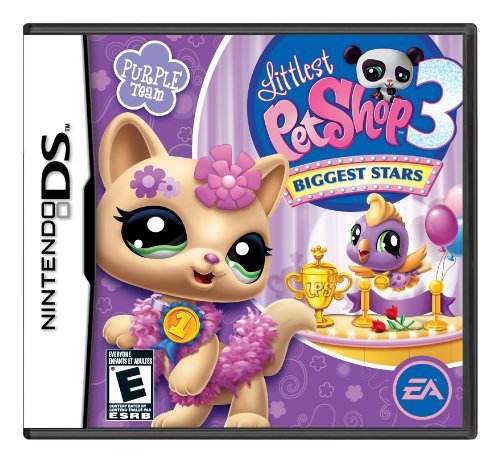 Littlest Pet Shop 3 Biggest Stars Purple Team - Nintendo DS by Electronic - Shop Ds-littlest Pet