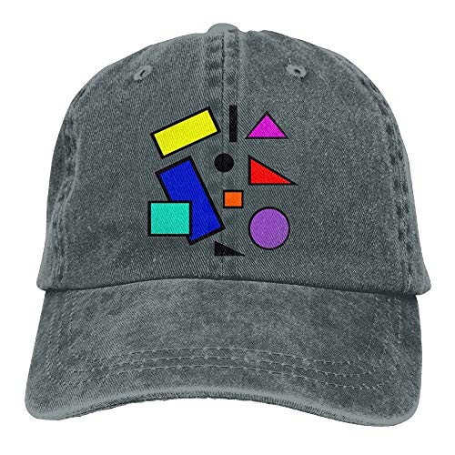 Preisvergleich Produktbild LJKHas232 Retro 80s Shapes Premium Cowboy Baseball Caps Dad Hats Natural