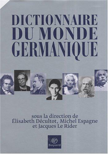 Dictionnaire du monde germanique
