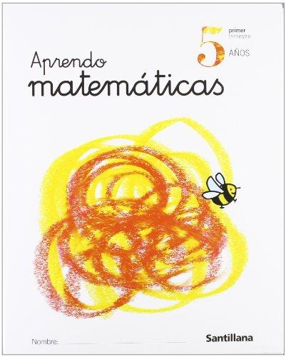 Aprendo matemáticas, Educación Infantil, 5 años - 9788429484687