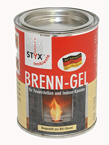 Hark (16,60 EUR/L) Dekokamin Feuerkugel Brenngel Dekofeuer Gel Kaminofen