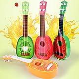 yibenwanligod Mini Simulation Gitarre Ukulele Pädagogisches Musical Spielen Spielzeug Baby Kinder Geschenk - Zufällige Farbe Solid Color Item Name