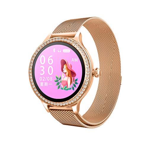 Saingace(TM) Bluetooth Smartwatch, Luxus Lederarmband M8 Smart Watch Intelligente Armbanduhr Wasserdichte Fitness Tracker Armband Sport Uhr für Kinder Frauen Männer