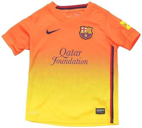 Nike FC Barcelona Away Shirt 2012/13Children's Size Orange Safety orange/tour yellow/mi Size:XL