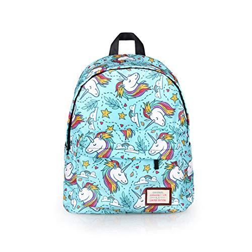 Cartoon Animal Unicorn Panda Backpack for Teenage Girls Children School Bags Kids Bookbag Cute Rainbow Horse School Backpack Bag Unicorn
