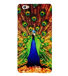 Print Masti Designer Back Case Cover for Gionee S6 (Live Performance Beautiful Crown Neck Feather)