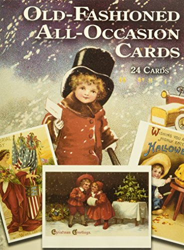 Old-Fashioned All-Occasion Cards: 24 Cards: 24 Full-Colour Ready-to-Mail Cards (Dover Postcards) por Gabriella Oldham