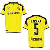 puma BVB BORUSSIA DORTMUND Trikot 3rd Herren 2016 / 2017 - BARTRA 5, Größe:L