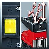 Einhell Elektro Leisehäcksler GC-RS 2845 CB (2300 Watt, max. 45 mm Aststärke, inkl. 60 l Fangbox) Test