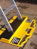 Ladder M8rix Pro Anti-Slip Accessory - 2000 pin board locks ladder in place on a range of slippery surfaces