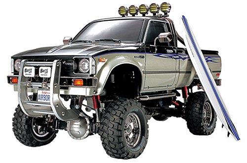TAMIYA 300058397 - Toyota Hilux Hi Lift, ferngesteuertes Offroad Fahrzeug, 1:10, Elektromotor, Bausatz*
