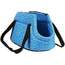 SODIAL(R) Bolsa de mano de hombro de transporte de viaje para pequenas mascotas
